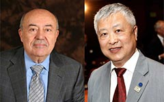 Andrew J. Viterbi and Ming Hsieh