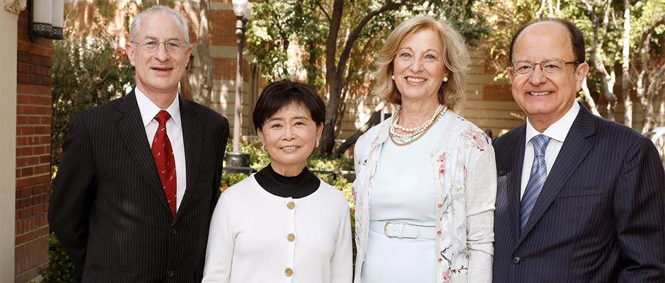 The gift from Mei-Lee Ney will establish a new center dedicated to research on longevity and healthy aging at the USC Leonard Davis School of Gerontology