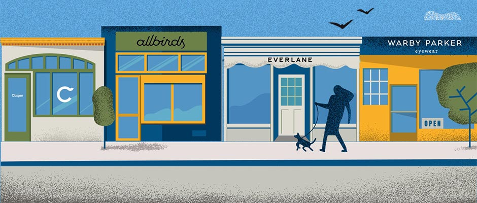 Illustration: Direct-to-consumer brands