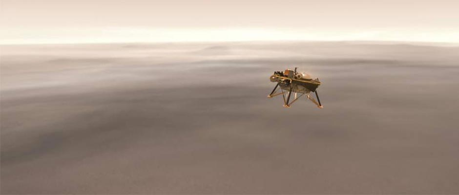 Illustration of the Mars rover
