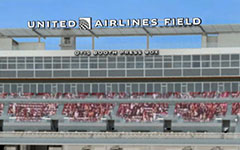 United Airlines Field at the Los Angeles Memorial Coliseum